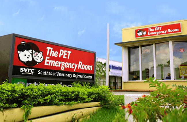 The Southeast Veterinary Referral Center (SVRC) and The Pet Emergency Room